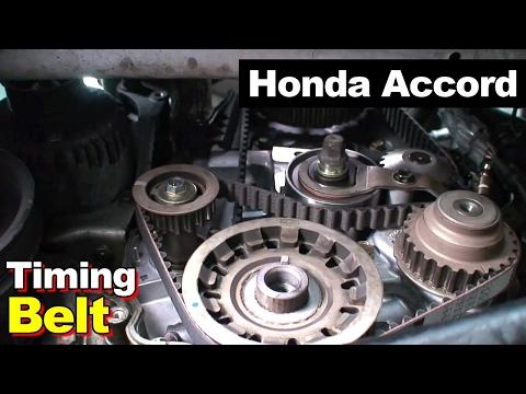 2002 Honda Accord Timing Belt Balance Shaft Valve Cover Tune Up