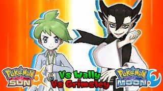 Pokémon Sun & Moon: Me & Mallow Vs  Grimsley & Dexio (Battle