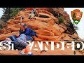 Angels Landing Hike - STRANDED AT THE TOP!