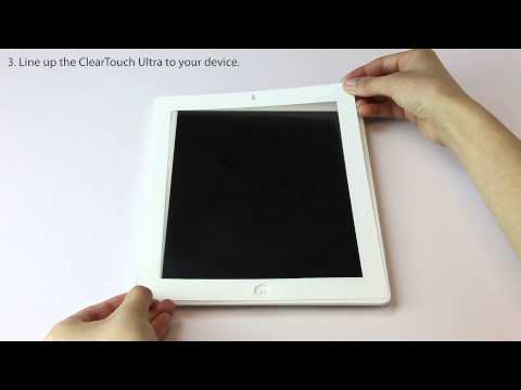 ClearTouch Ultra Easy Installation Video