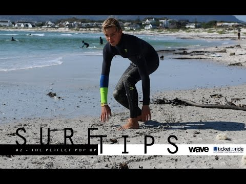 Surf Tips - How to Pop Up