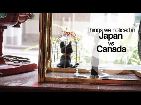 Things we noticed while in Japan!