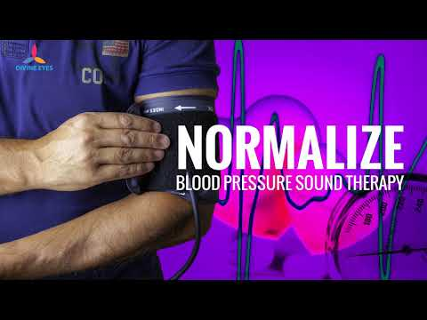 Normalize Blood Pressure Binaural Beats Meditation-Reduce Hypertension, Strengthen Blood Circulation