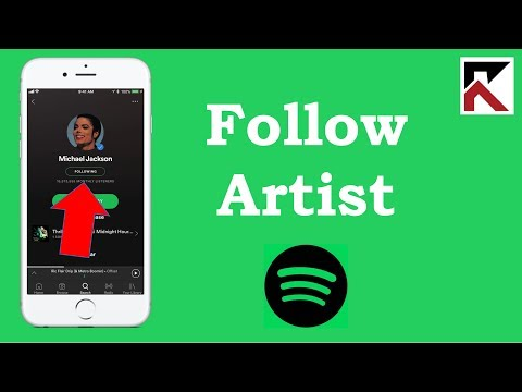 How To Follow An Artist Spotify iPhone