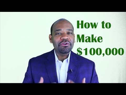 How to Make More Money ($100k) in America #MoneyMonday