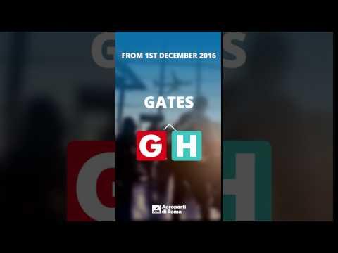 The boarding gates change names