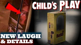 Download Child's Play (2019) Chucky's Laugh, Footage Description, & MORE Video