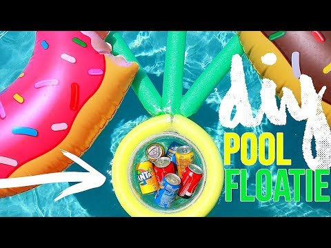 BEST DIY Craft Projects To Do When Bored In FALL! DIY POOL FLOATIE!!