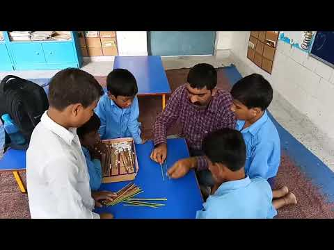 Activity based learning (mathematics) tables