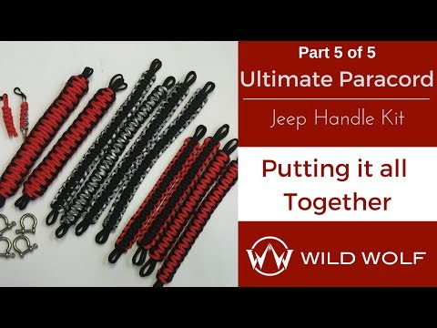 Ultimate Paracord Jeep Handle Kit-Part 5 – Putting It All Together