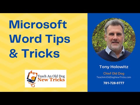 Microsoft Word Tip 29: Increase and Decrease Font Size