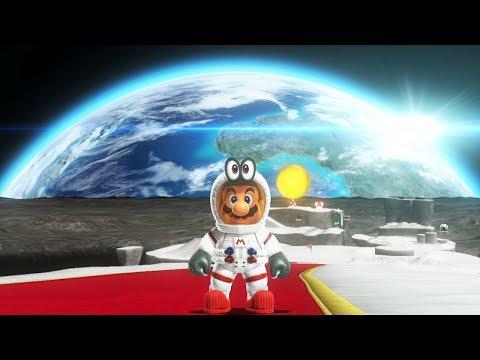 Super Mario Odyssey - Walkthrough Part 14 - Moon Kingdom All Moons & Coins