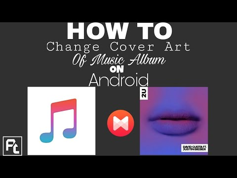 How To Change The Cover Art Of Music Album on Android | Ayush Tiwari |