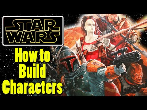 Idiot's Guide to Creating Star Wars Characters (FFG Roleplaying)