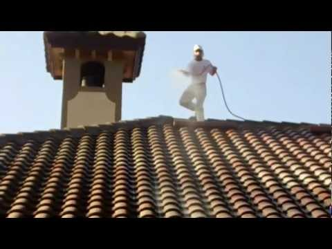 Tile Roof Cleaning  lutz florida 727-483-8177