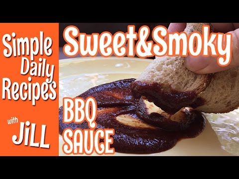 My Best Sweet & Smoky BBQ Sauce