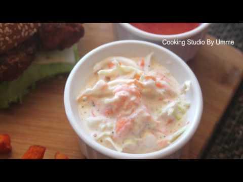 কেএফসি/ বিএফসি কোলস্লো || Coleslaw Recipe Bangla|| How To Make Coleslaw || KFC / Bfc style Coleslaw