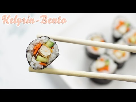 Vegan sushi recipe | How to make easy maki sushi with grilled tofu