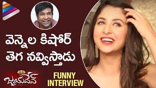Malvika Raaj Funny Comments on Vennela Kishore | Jayadev Telugu Movie Funny Interview | Ganta Ravi