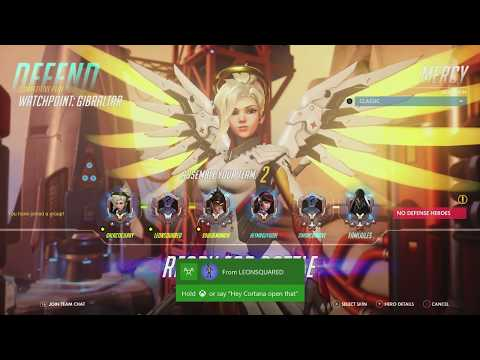 [Xbox One] Overwatch - Season 9 Competitive and/or Quick Play & Chill
