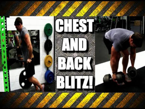 Build a Huge Chest and Back Fast