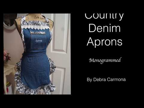 Country Denim Aprons