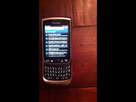 Blackberry loud noise
