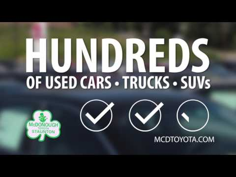 McDonough Toyota will have you
