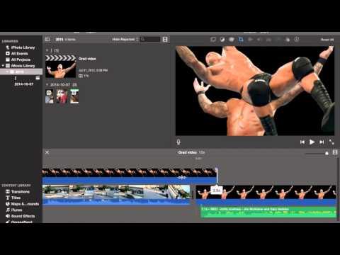 How to make an RKO edit on IMovie on Mac