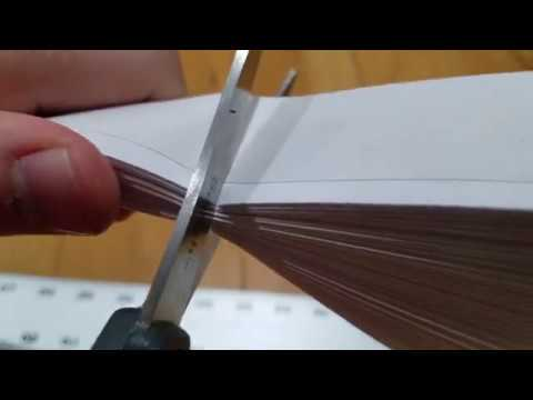 How to install a Redi Shade paper shade/blind