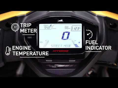Know Your Speedometer on the TVS NTOR125
