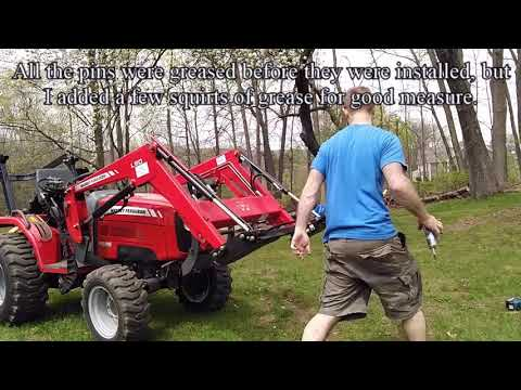 assembling my DIY Titan attachments Skid steer style Quick Attach adapter