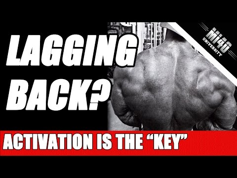 How to Build Big Back Muscle, Back Muscles Activation Growth