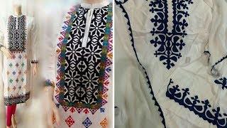 Applique dresses in pakistan videos tube tv