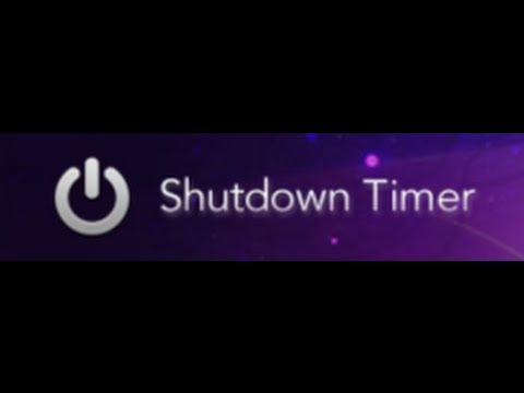 How to make a shutdown timer in notepad