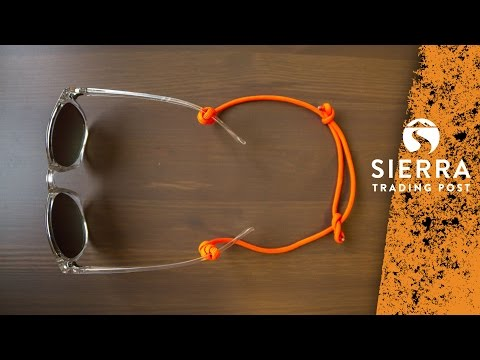 How To Make A Paracord Eyewear Retainer