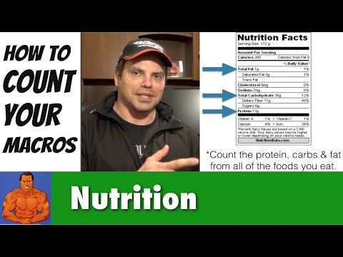 How To Count Your Macros for Beginners (protein, carbs, and fat)
