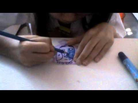 how to draw a cartoon bird