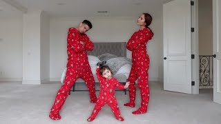 Ultimate Onesie Dance Battle With 1 Year Old Baby