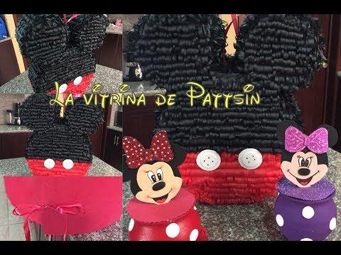Piñata Mickey Mouse fácil paso a paso, piñata mickey easy step by step