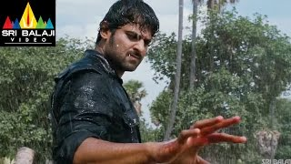Mirchi Movie Prabhas Powerful Rain Fight Scene  Prabhas Anushka Richa  Sri Balaji Video