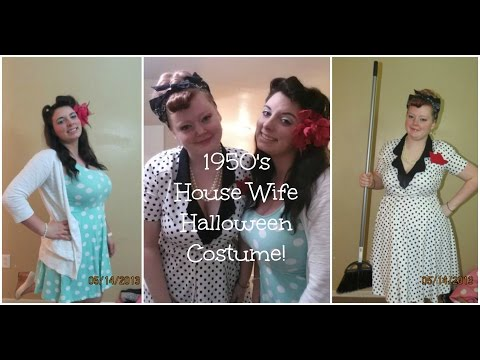 Halloween How To! Part 1: 1950's House Wife costume Featuring