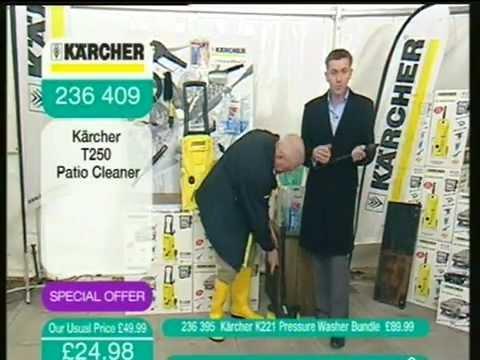 Karsher pressure washer guy late night ideal world
