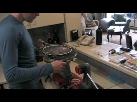 Racquet Stringing - Crosses