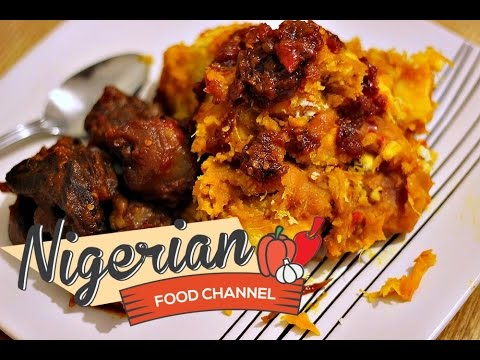 HOW TO COOK NIGERIAN YAM PORRIDGE (Asaro)   Nigerian Food Recipes