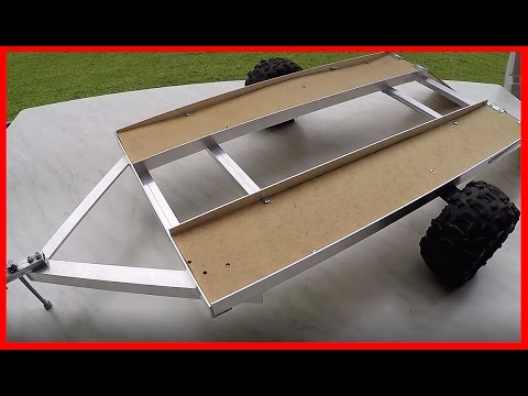 Homemade RC Trailer Scale 1/10