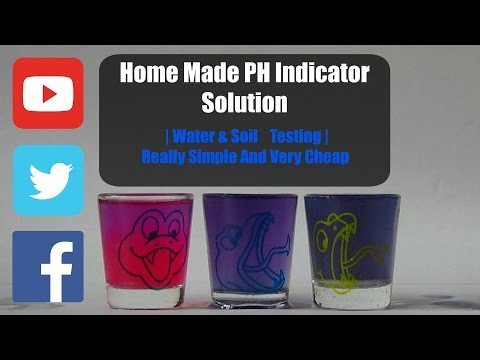 Home Made PH Indicator Solution | Water & Soil Testing | Simple & Cheap
