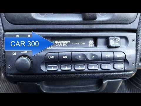 CAR 300 BLAUPUNKT RADIO CODE SERIAL NUMBER GM, code free