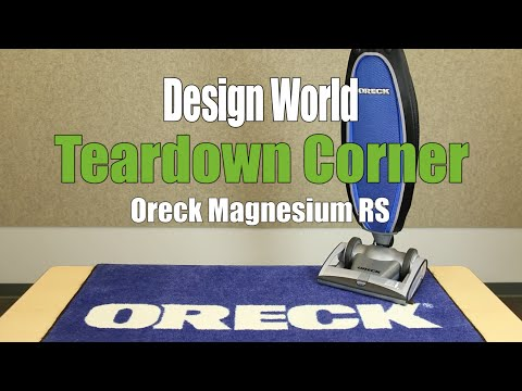 Inside the lightweight vacuum, Oreck's Magnesium RS - Teardown Corner