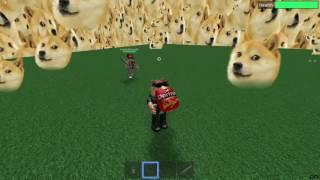 Eating Doritos in Doge Simulator (ROBLOX)